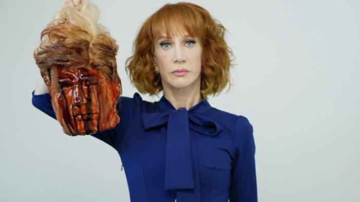 kathy griffin DT head