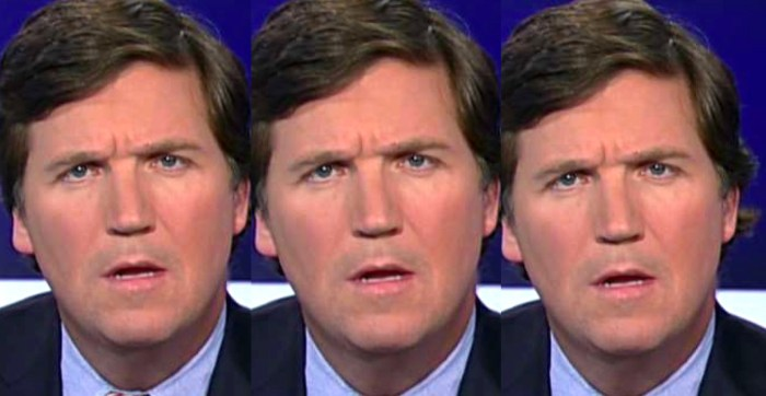 tucker carlson constipation face 5